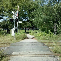 Photo taken at Martin Annis Crossing by Alex on 9/30/2011