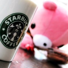Photo taken at Starbucks by Lovely N. on 7/21/2012