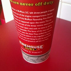 Photo taken at Firehouse Subs by Nita S. on 7/25/2012