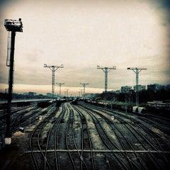 Photo taken at Лосиноостровская by Lenny P. on 10/20/2011