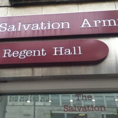 Photo taken at Regent Hall Salvation Army by AAA U. on 10/27/2011