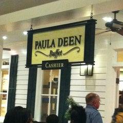 Photo taken at Paula Deen Buffet Harrah's Tunica by Frances W. on 4/14/2012
