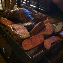 Photo taken at La Parrilla by Victor on 8/19/2012
