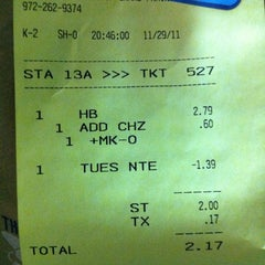 Photo taken at SONIC Drive In by John V. on 11/30/2011