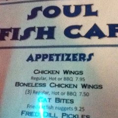 Photo taken at Soul Fish Cafe by Stevie on 8/22/2012