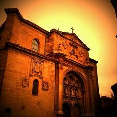 Photo taken at Parador Santo Domingo de la Calzada by Jose M. on 1/4/2012
