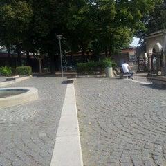 Photo taken at Lajpciški trg by Nedim S. on 9/27/2011