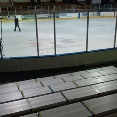 Photo taken at Nelson Center Ice Rink #1 by Steve T. on 10/21/2011