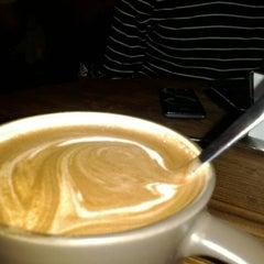 Photo taken at Cafeteca by Sebastian C. on 4/12/2012