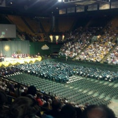 Photo taken at Patriot Center by Kevin P. on 5/19/2012