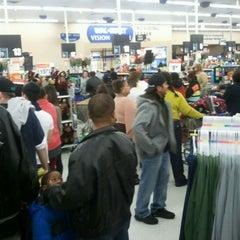 Photo taken at Walmart Supercenter by Teodora B. on 12/23/2011