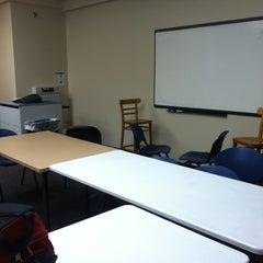 Photo taken at Reinert SMART classroom by Kris P. on 10/2/2011