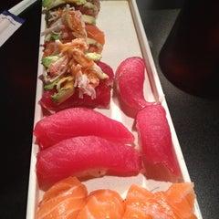 Photo taken at IOU Sushi by Tina M. on 1/26/2012