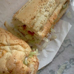 Photo taken at Subway - Lenox Marketplace by Nyla R. on 11/14/2011