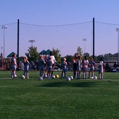 Photo taken at Overland Park Soccer Complex by Aaron H. on 8/27/2011