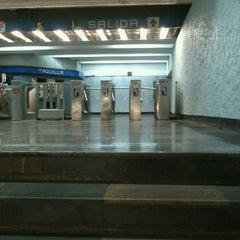 Photo taken at Metro Popotla (Línea 2) by Gerardo G. on 1/31/2012