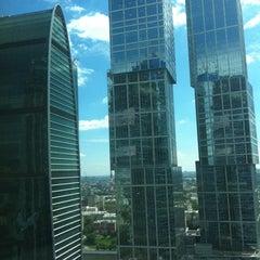 Снимок сделан в Башня «Федерация» / Federation Tower пользователем LiliyaM 7/24/2012