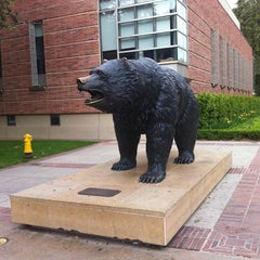 Photo taken at UCLA Bruin Statue by James A. on 8/13/2011