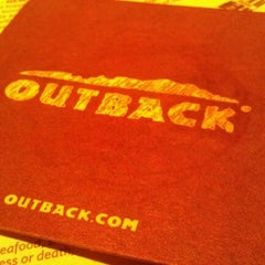 Photo taken at Outback Steakhouse by Robert M. on 12/9/2011