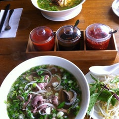 Photo taken at Papaya Vietnamese Restaurant by Joey S. on 6/23/2012
