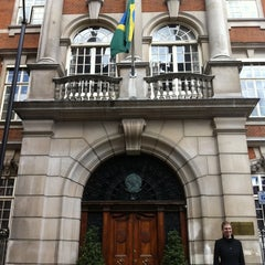 Photo taken at Embassy Of Brazil by Fred P. on 7/30/2011