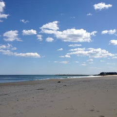 Photo taken at Manasquan Beach by Caitlin on 5/11/2012