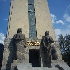 Photo taken at Monumento al General Alvaro Obregón by vicdelap on 3/15/2012