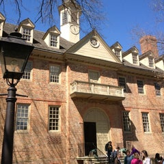 Photo taken at Wren Building and Courtyard by Kevin D. on 4/2/2012