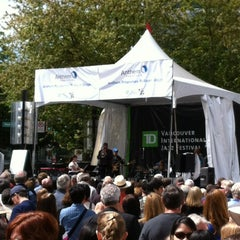 Photo taken at Vancouver International Jazz Festival by Shawn C. on 6/24/2012