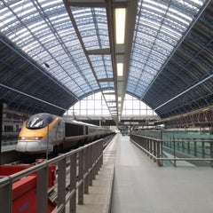 Photo taken at London St Pancras Eurostar Terminal by Jeremy M. on 6/16/2012