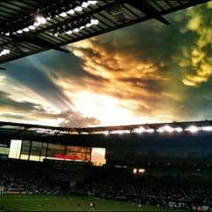 Photo taken at Sporting Park by Cara M. on 8/9/2012