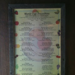 Photo taken at World Cup Cafe by Sezin S. on 5/7/2012