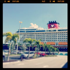 Photo taken at Port Canaveral by Patricia Yuli S. on 9/6/2012