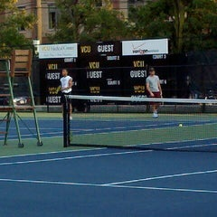 Photo taken at VCU Thalhimer Tennis Center by Brian A. on 8/30/2012
