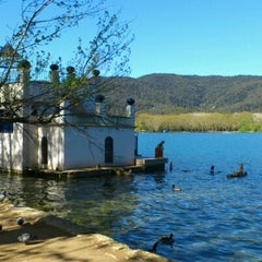 Photo taken at Estany de Banyoles by Esther on 4/7/2012