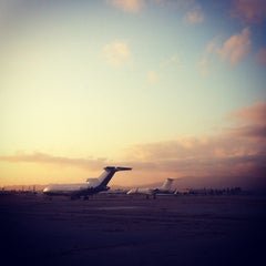 Photo taken at Van Nuys Airport (VNY) by Andrew R. on 3/7/2012