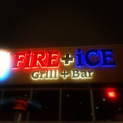 Photo taken at FiRE + iCE Grill + Bar by Adrian F. on 8/24/2012