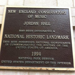 Photo taken at New England Conservatory's Jordan Hall by Mathieu H. on 3/24/2012
