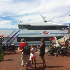 Photo taken at Hy-Line Cruises Ferry Dock (Nantucket) by Heather E. on 7/12/2012