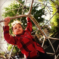 Photo taken at Vanderbilt Playground by Jefferson P. on 4/29/2012