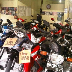Photo taken at Berkah Motor by muhammad z. on 10/7/2011