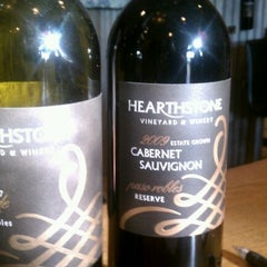 Photo taken at Hearthstone Vineyard and Winery by Josslyn W. on 11/5/2011
