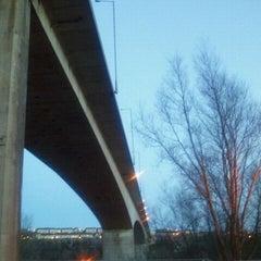Photo taken at Redheugh Bridge by Rob K. on 3/18/2011