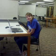 Photo taken at Mabee Library by Kevin M. on 8/22/2011
