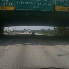 Photo taken at Interstate 4 by Travis Y. on 6/12/2012