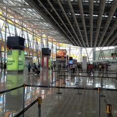 Photo taken at Zvartnots International Airport | Զվարթնոց Միջազգային Օդանավակայան (EVN) by 🌟Ash . on 8/16/2012