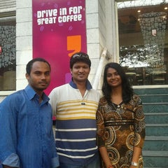 Photo taken at Cafe Coffee Day by Vijay S. on 1/29/2012