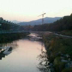 Photo taken at 양재천 산책로 (Yangjaecheon Trails) by John Young K. on 11/3/2011