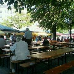 Photo taken at Viktualienmarkt by Franziska S. on 5/11/2012
