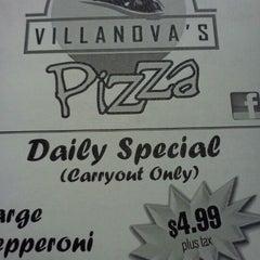 Photo taken at Villanova's pizza by Karen B. on 3/18/2012
